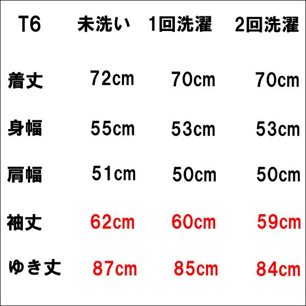 センジェギルドサイズ表
