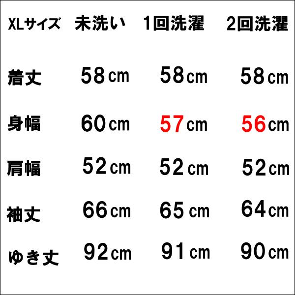 チャンピオンR.Wサイズ表