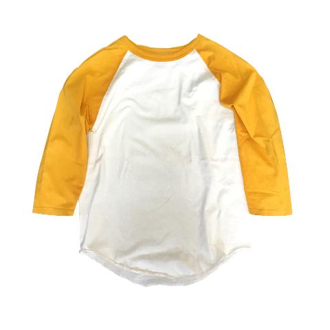 七部袖Tシャツ